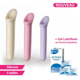 Pack Dilatateurs VAGIWELL® LARGE + Lubrifiant - 3 Dilatateurs vaginaux