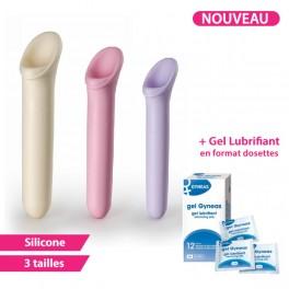 Pack Dilatateurs VAGIWELL® LARGE + Lubrifiant - 3 Dilatateurs vaginaux