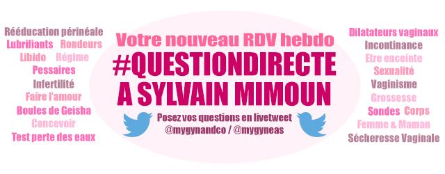Question à Sylvain Mimoun au sujet de la rééducation périnéale