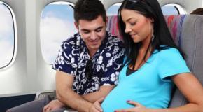 S'envoler pendant la grossesse, c'est sans risque