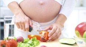 Une alimentation riche en fer durant la grossesse