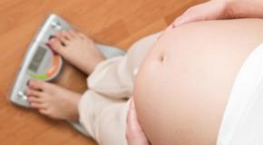 Prise de poids durant la grossesse, affaire de couple ?
