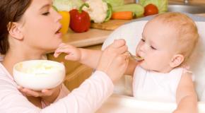 Des conseils sur l'alimentation de l'enfant